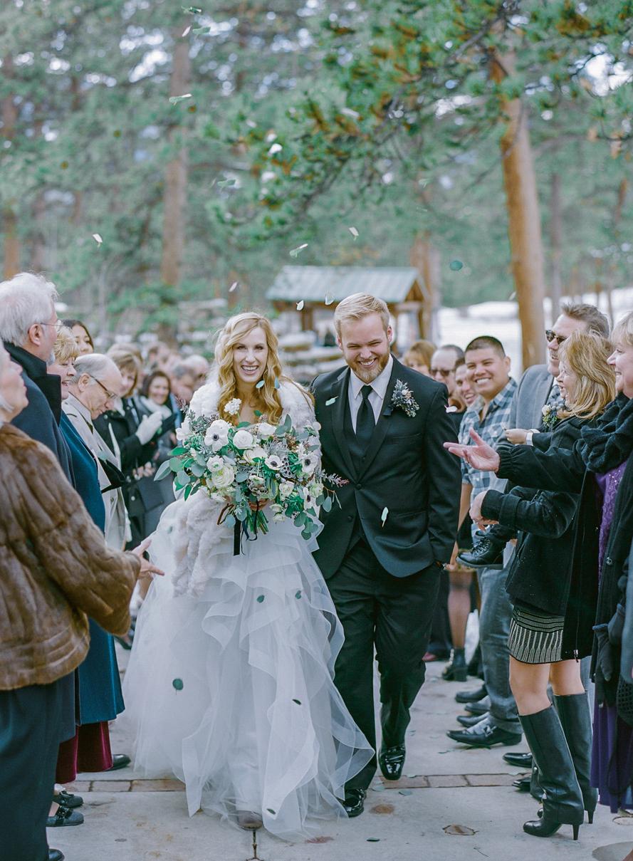 Kendall Amp Grant S Winter Wedding On Martha Stewart Weddings